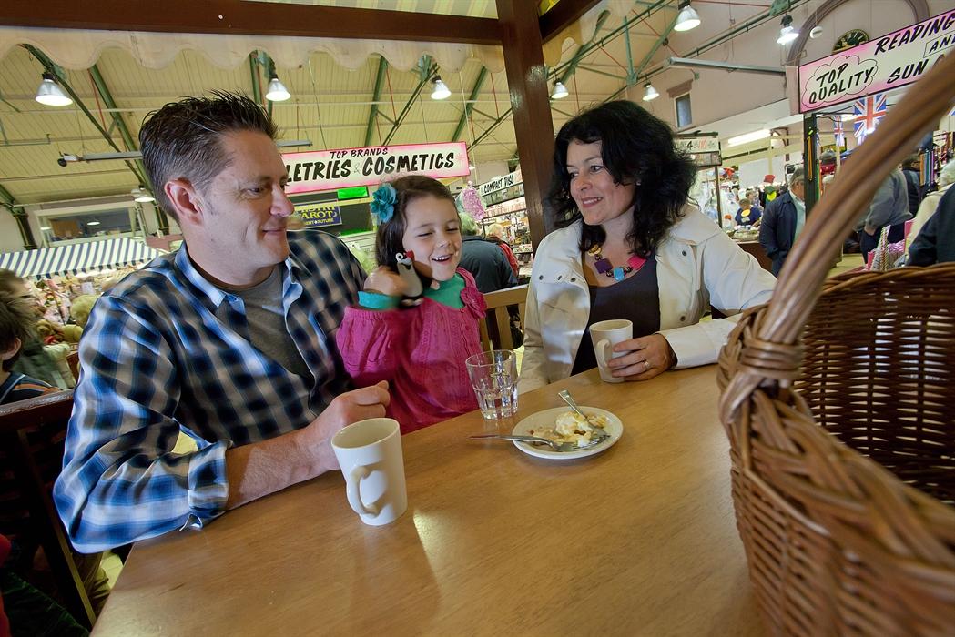 Fleetwood Market family cafe