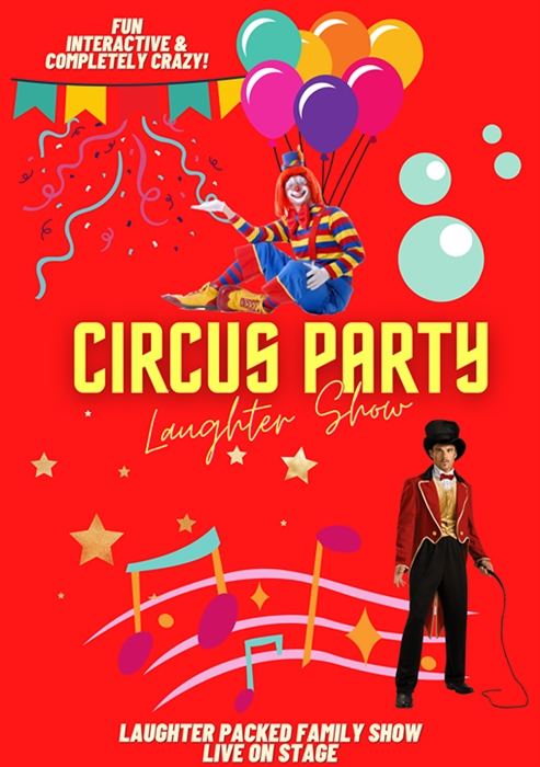 Circus Party Laughter Show
