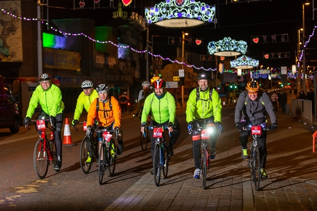 Manchester to Blackpool Night Ride