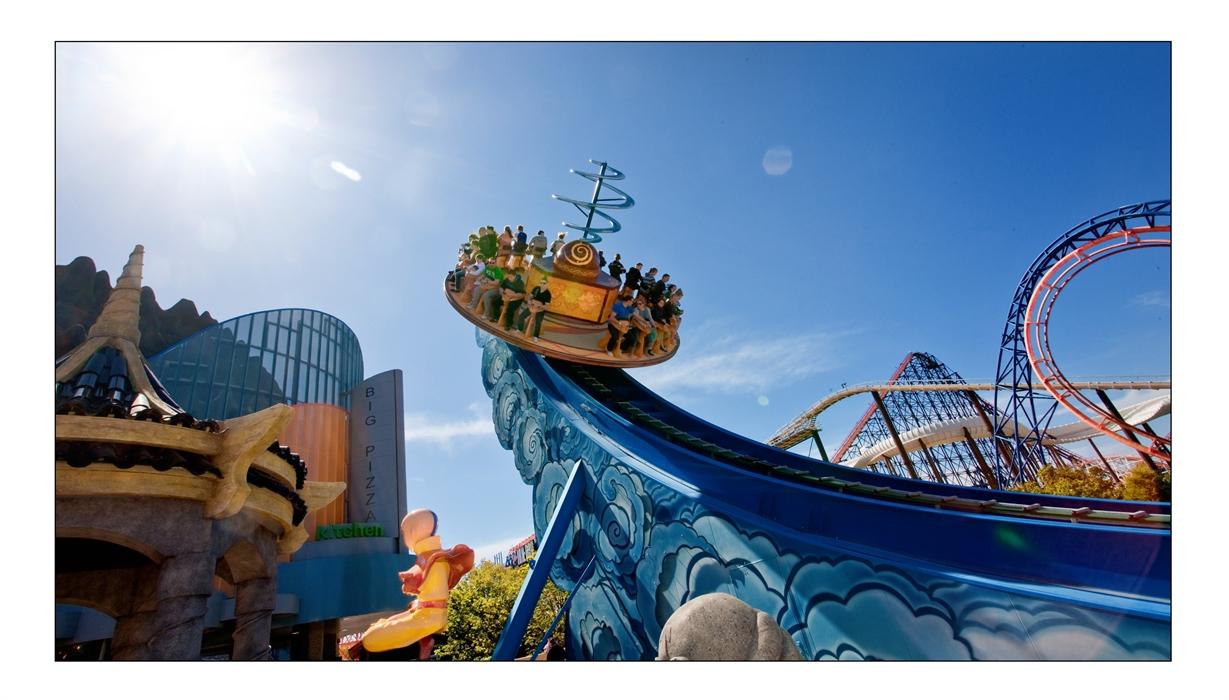 Blackpool Pleasure Beach's Nickelodeon Land