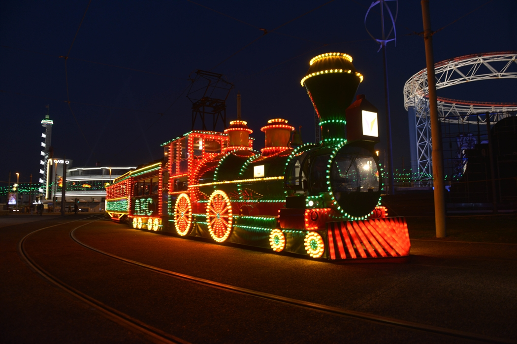 Blackpool Illuminated Tram Tours
