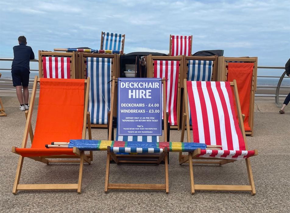 Blackpool Deckchair Hire