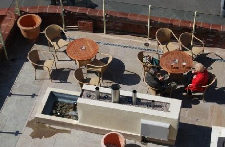 Elgin Hotel Blackpool - Patio
