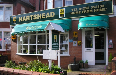 Blackpool Guest House accommodation-Hartshead