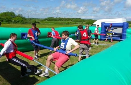 Human Table Football, Impact Blackpool