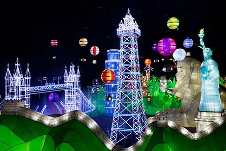 Illuminasia - Blackpool's Indoor Illuminations attraction for 2014
