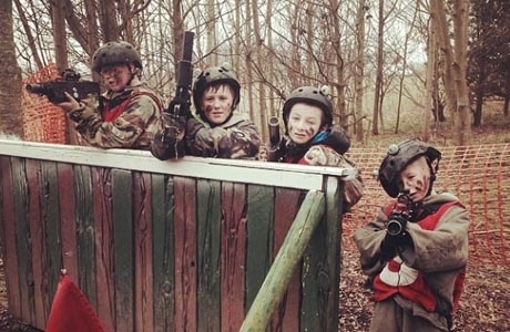 Outdoor laser tag, Impact Blackpool