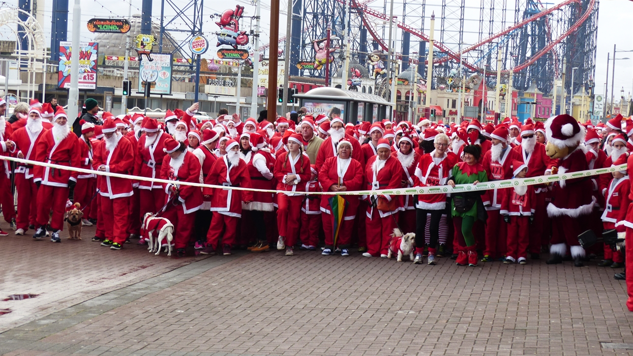 Blackpool Santa Dash