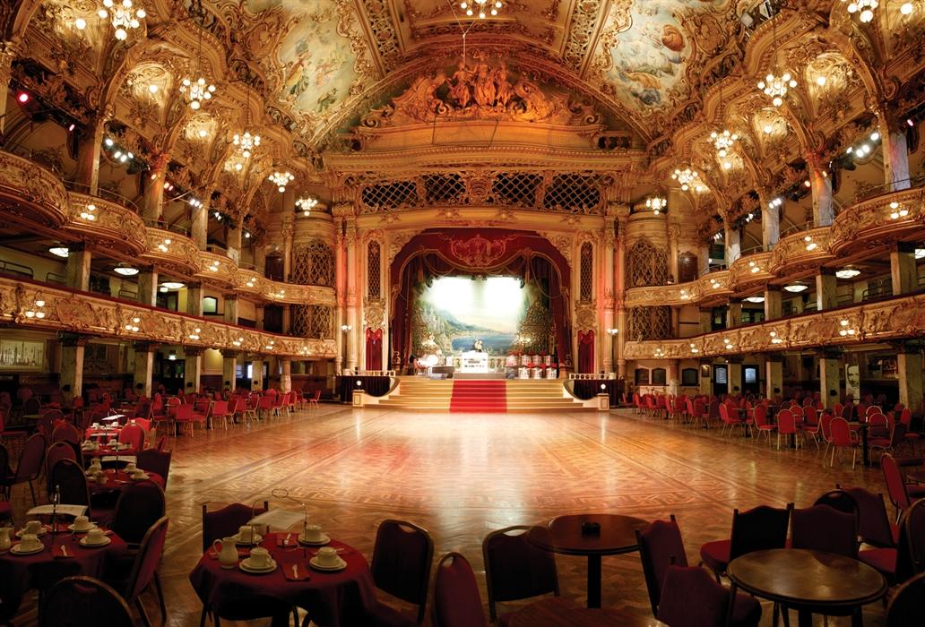 The Blackpool Tower Ballroom Visit Blackpool