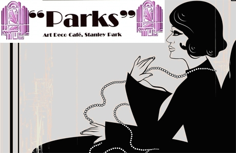 'PARKS' Art Deco Cafe