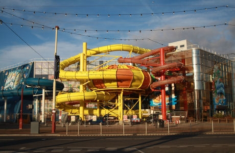 New Slides Sandcastle Waterpark Blackpool