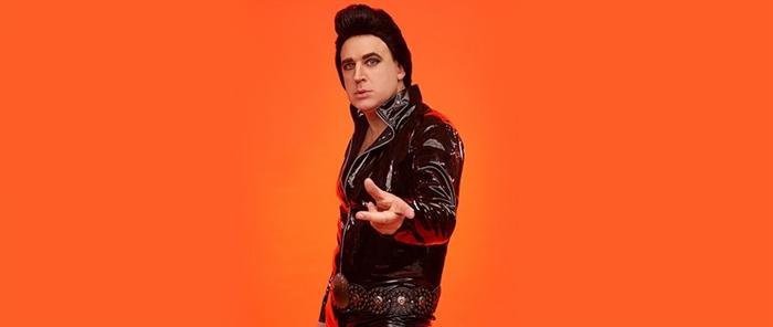 Tim Vine is Plastic Elvis 2021