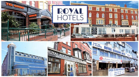 Royal Hotels Blackpool Offer Exceptional Value For Money Excellent Locations Great Food And Fantastic Live Entertainment Nightly