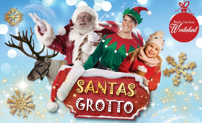 Santa's Grotto Winter Gardens Wonderland