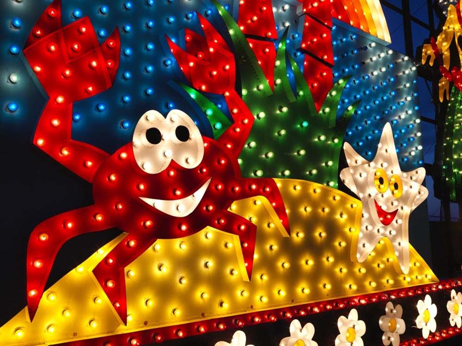 Blackpool Illuminations & LightPool 2018