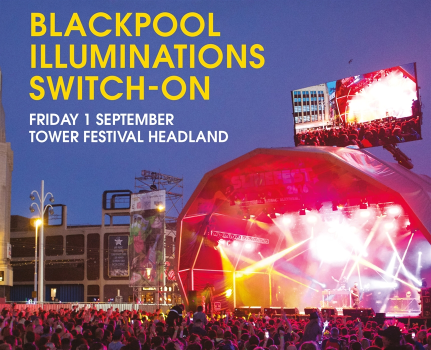 Blackpool Illuminations Switch On