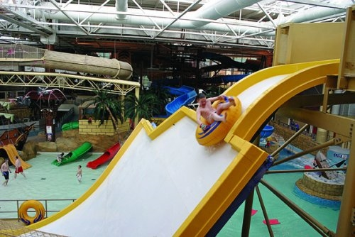 Blackpool Attractions - Sandcastle Waterpark